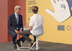John F.Kerry Give me 5 Session at Global Table 2019